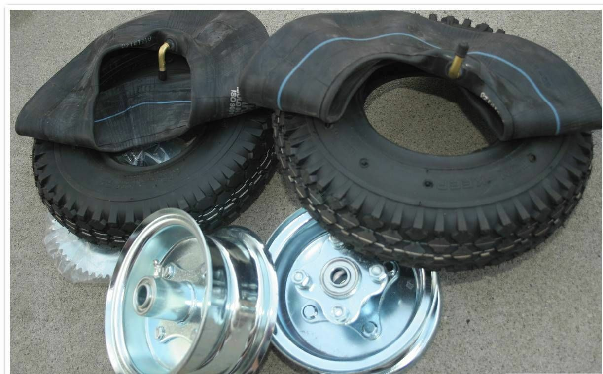 Mini Bike Kart 2 6 Split Rim Steel Wheels Hubs Tires 35 60 Tooth Sprocket Bad Dog Enterprises Mini Bikes Mini Choppers Parts Kits